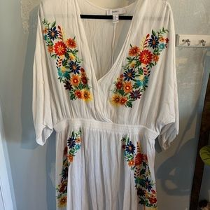 Festive plus size dress